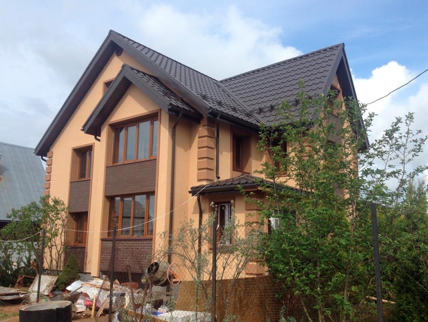 Покраска фасада в москву цена