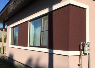 Утепление и декорирование фасада дома в Воротниково
