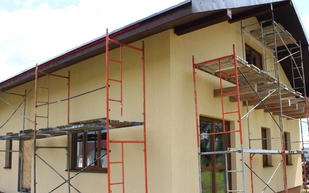 Реконструкция фасада дома