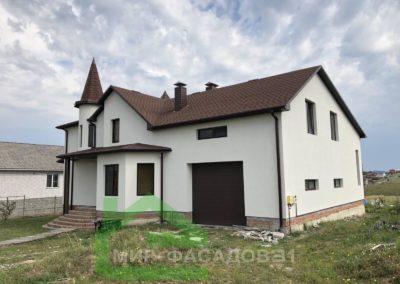 Утепление фасада дома в Белгороде, микрорайон Ближняя Игуменка, улица Малиновая