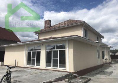 Фасадная отделка короедом Старый Оскол на улице Сергиевская